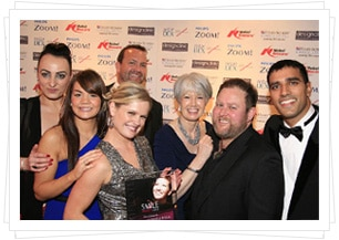 The Team at The Smile Awards 2012